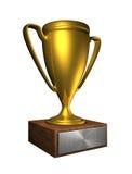 чашка золотистая Стоковое Изображение RF