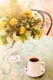 Чашка и букет чая Стоковая Фотография RF
