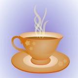 Чашка и плита Стоковые Фото