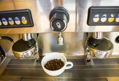 Чашка и фасоль Coffe Стоковое Изображение
