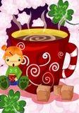 чашка какао Стоковая Фотография RF