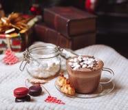 Чашка какао Стоковое Изображение