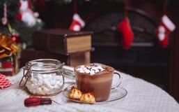 Чашка какао Стоковое Фото