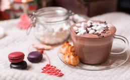 Чашка какао Стоковые Фото