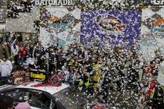 Чашка Кевин Harvick спринта NASCAR в майне победы Стоковые Изображения RF