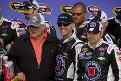 Чашка Кевин Harvick спринта NASCAR в майне победы Стоковые Фотографии RF