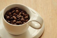 Чашка кофейных зерен Стоковое Изображение RF