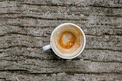 Чашка кофе ведена стоковое изображение rf