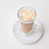 Чашка кофе, взгляд сверху стоковые изображения
