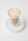 Чашка кофе, взгляд сверху стоковые изображения rf