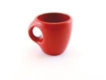 Чашка красного цвета влюбленности Стоковые Изображения RF