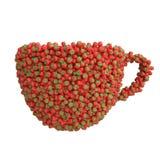 Чашка клубник Стоковая Фотография