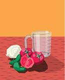 Чашка перца лука томатов Стоковая Фотография RF