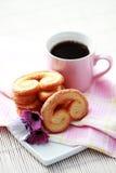 чашка печений кофе Стоковые Изображения