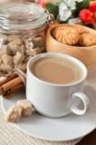 чашка печений кофе Стоковое Фото