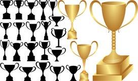 Чашка победы Стоковая Фотография RF
