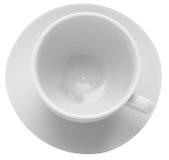 Чашка & поддонник Стоковая Фотография RF
