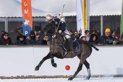 Чашка поло снега Sankt 2017 Мориц Стоковые Фото