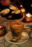 Чашка приправленного latte стоковые изображения rf