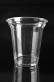 Чашка прозрачной пластмассы Стоковые Фотографии RF