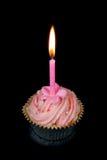 чашка свечки торта Стоковые Изображения