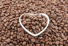 Чашка сердца форменная Стоковое Изображение RF
