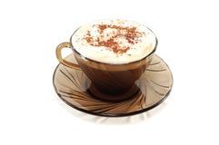чашка сливк кофе Стоковая Фотография