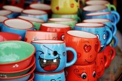 чашка смешная Стоковые Фото