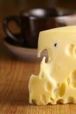 чашка сыра Стоковые Изображения