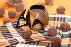 Чашка с какао Стоковая Фотография