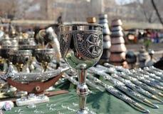 Чашка с крестом! Стоковая Фотография RF