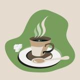 Чашка с сахаром Стоковые Фотографии RF