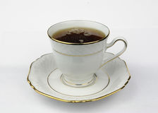 Чашка с тройником стоковая фотография