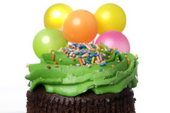 чашка торжества торта Стоковая Фотография RF