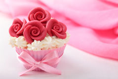 чашка торта Стоковая Фотография