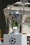 Чашка 2016 трофея лиги чемпионов Стоковая Фотография RF