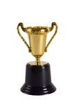 Чашка трофея игрушки золотая стоковые фото