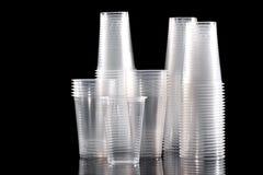 чашка устранимая Стоковое фото RF
