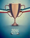 Чашка футбола Стоковое фото RF