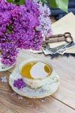 Чашка чаю лета Стоковые Фотографии RF