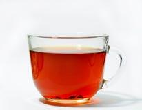Чашка чаю изолированная на белой предпосылке Стоковое Изображение