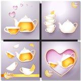 Чашка чаю и бак Стоковая Фотография RF