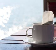 Чашка чаю стоковое фото