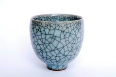 Чашка чая мы линии artistics великолепные на ей Стоковая Фотография RF