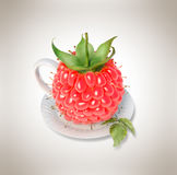Чашка чая поленики Стоковая Фотография