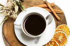 Чашка черного coffe Стоковая Фотография