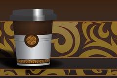 Чашка шоколада иллюстрация штока