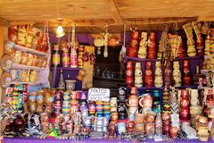 Чашка штейна yerba сувенирного магазина стоковое фото