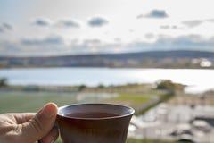 Чашка для церемонии чая Стоковые Изображения RF