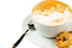 Чашка cappucino Стоковая Фотография RF